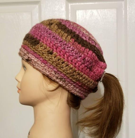 low ponytail hat low ponytail beanie ponytail beanie hat  c624e38fdae