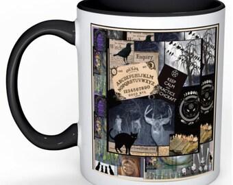 wiccan witch mug