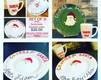 Cookies For Santa Plate Collection