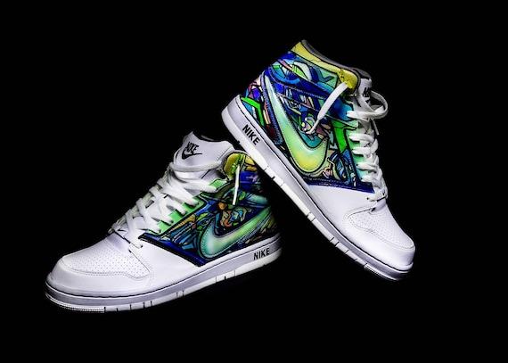 Nike Prestige IV ''High Custom | Etsy