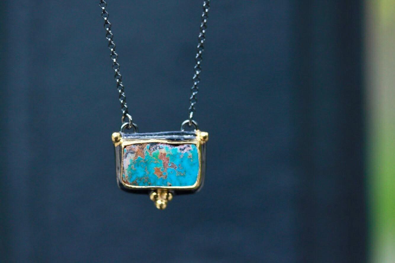 turquoise necklace december birthstone necklace gemstone. Black Bedroom Furniture Sets. Home Design Ideas