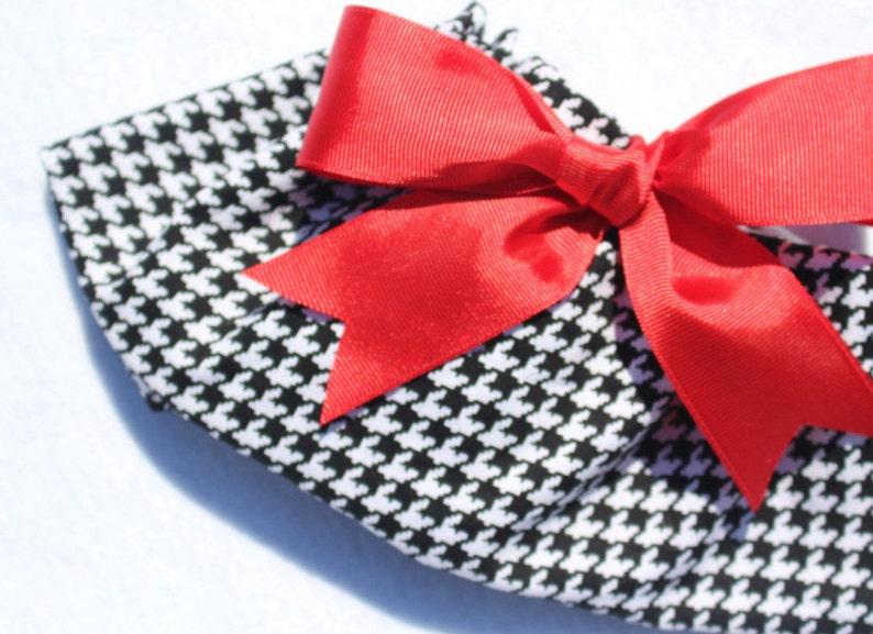 Houndstooth /& crimson Mini Pig Clothes Alabama Crimson Tide Pet Tutu