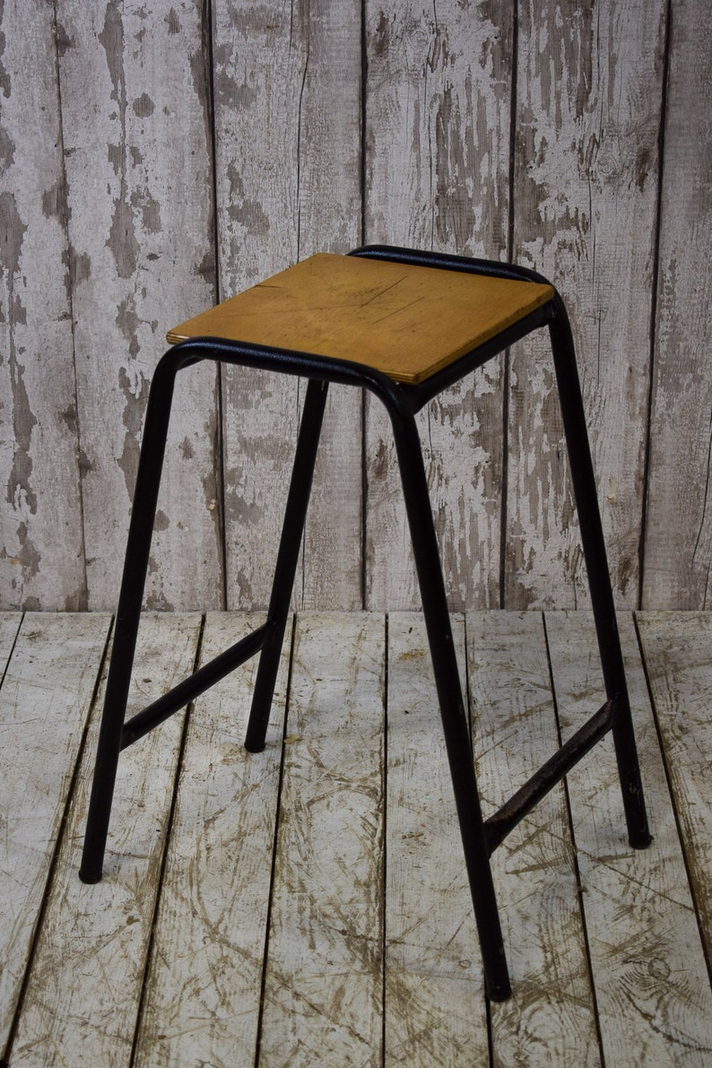 Fine Vintage Industrial Cafe Bar Kitchen School Lab Stools 60Cm 9 Available Beatyapartments Chair Design Images Beatyapartmentscom