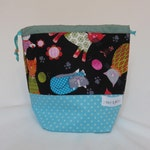 Sock Project Bag // Emily Sack // Knitty Kitty Socks