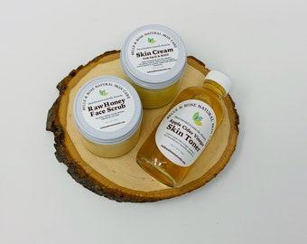 Belle & Rose Organic Skin Care Starter Set