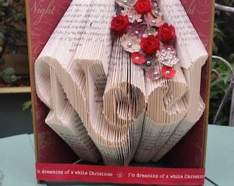 Noel Book Folding Pattern. 232 Folds. With Free Book Folding Tutorial