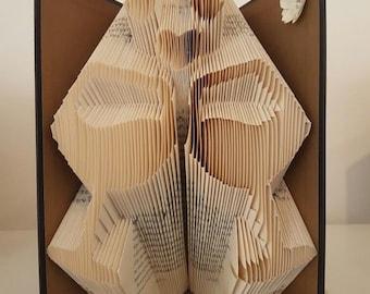 Wine Lover Book Folding Pattern, 216folds plus full Tutorial