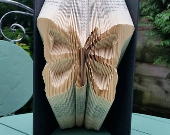 Pretty Butterfly Book Folding Pattern, 265f Free Beginners Tutorial