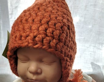 Cozy and warm Infant Gnome Hat