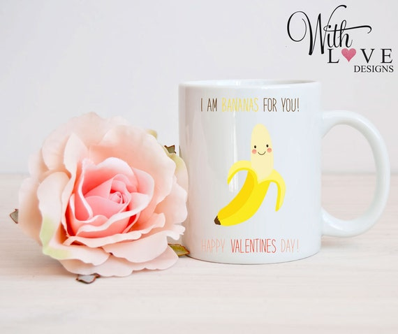 I Am Bananas For You Boyfriend Girlfriend Couple Mr Mrs Etsy Inspiration Valentines Day Quotes For Couples