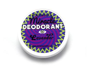 Lavender Miracle Deodorant: Natural Vegan Formula
