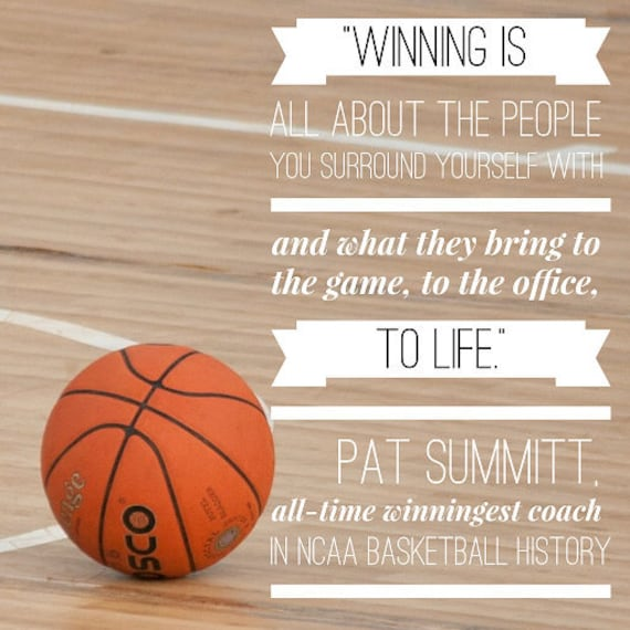 Motivational Quotes For Sports Teams: Inspirational Quote About Winning From NCAA Basketball