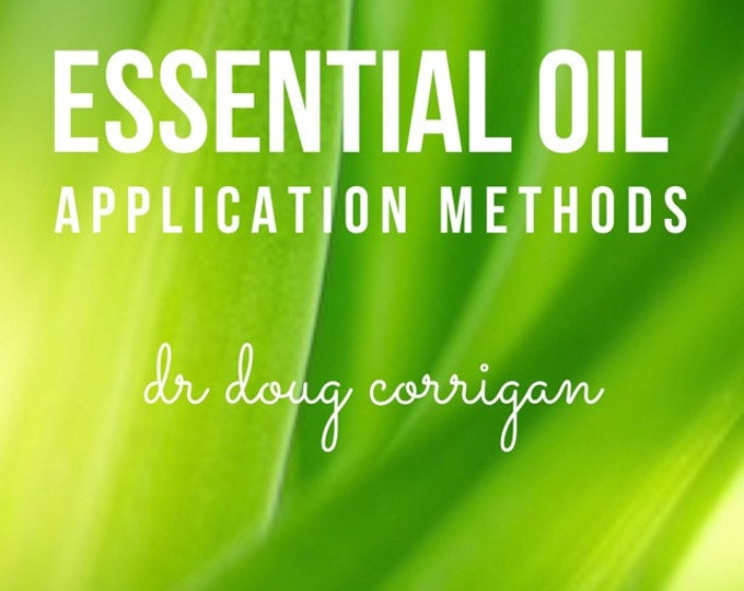 Featured listing image: Essential Oil Application Methods