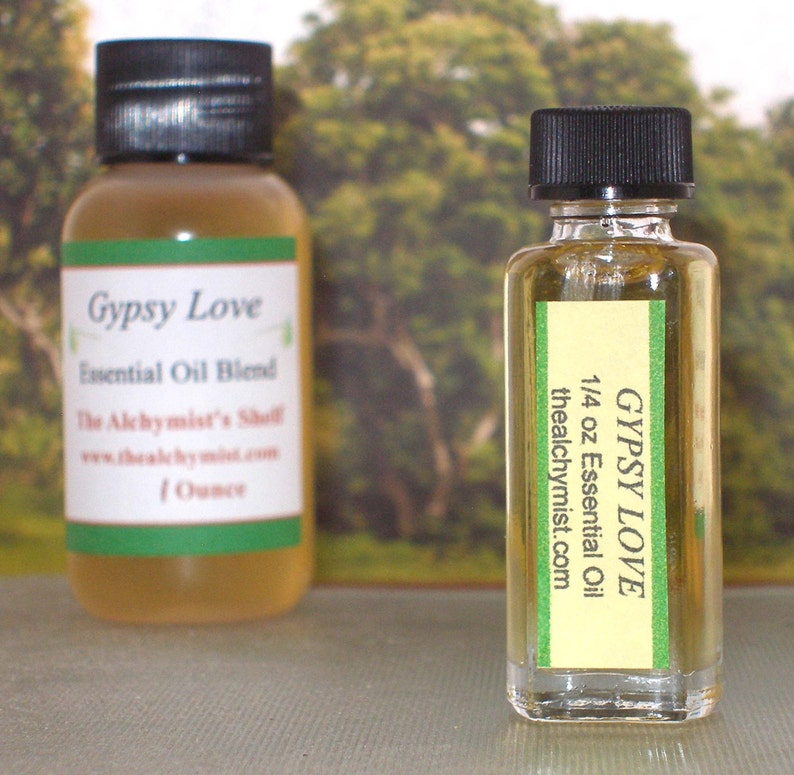 Gypsy Love Essential Oil Blend Wiccan Craft Pagan Altar Ritual Holy Spell