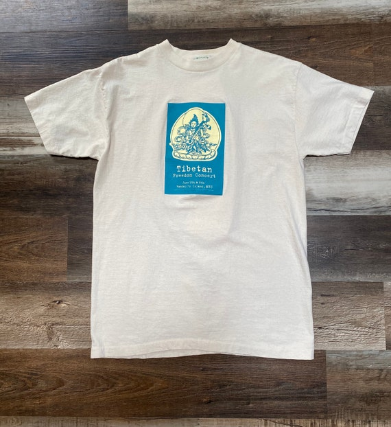 Rare Vintage Tibetan Freedom Concert T-Shirt 1997