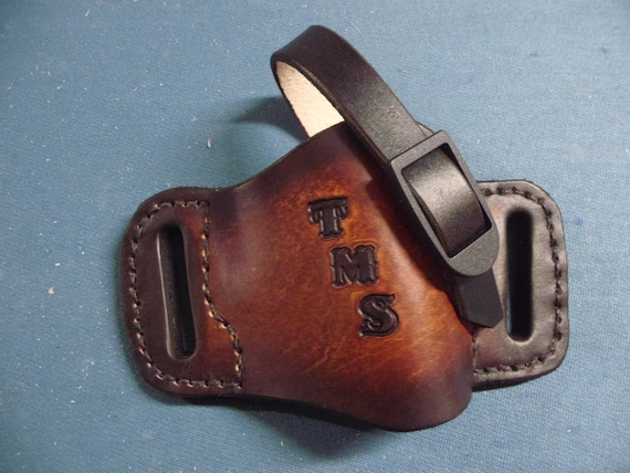 OPEN CARRY Handmade Leather Holsters    1911, Sig Sauer, Kimber,  Springfield, S & W, Etc  Engraved Free! Quick Delivery! Made In USA