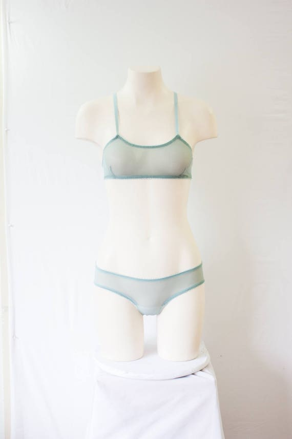 Mint Lingerie Set  Green Lingerie Mint Underwear Mind  0be1315e3