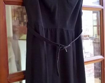 Beautiful black 1950's original dress