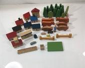 Antique German Toy Blocks Putz
