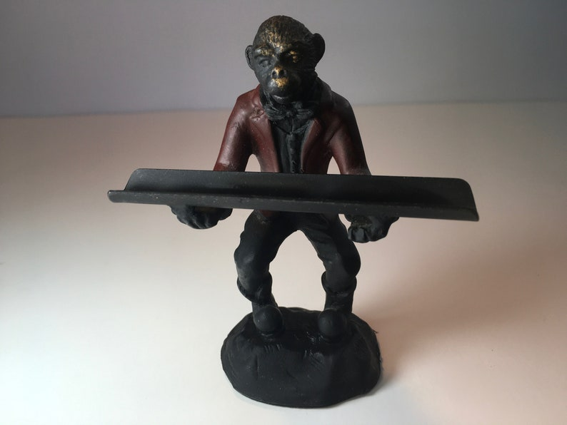 Superb Brass Bronze Monkey Desk Accessory Bombay Co Ibusinesslaw Wood Chair Design Ideas Ibusinesslaworg