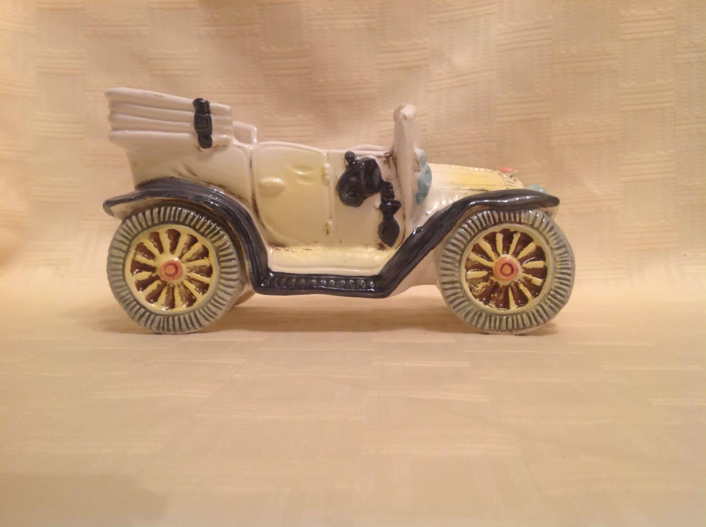 Vintage Ford Car 1911 Planter Trinket Coin Holder   Etsy