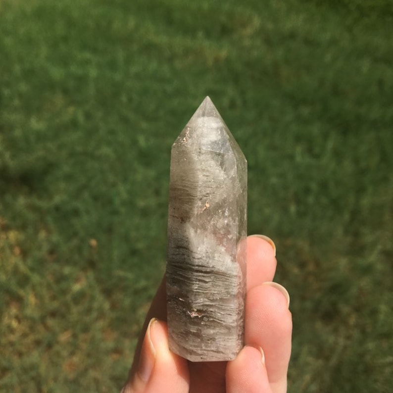 Scenic Quartz Crystal Point 39g image 0