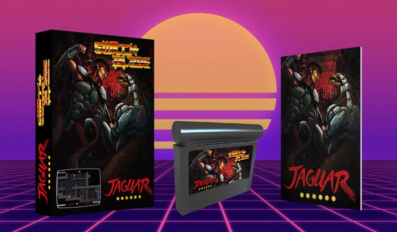 Featured in RetroGamer 2019 Atari Jaguar Fancy Slanted Cartridge Game Holder