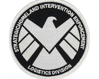 bdecc9d664f71c Marvel's Agent of Shield - Glow in The Dark - Iron on Patch - Can Be Ironed  onto Costumes, Shirts, Hats, etc - US Seller - FREE Shipping
