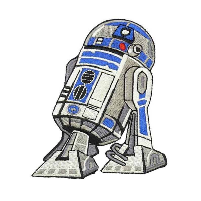 R2-D2 Star Wars Patch - Iron on and Sew on Embroidery Patch - US Seller -  Free Shipping