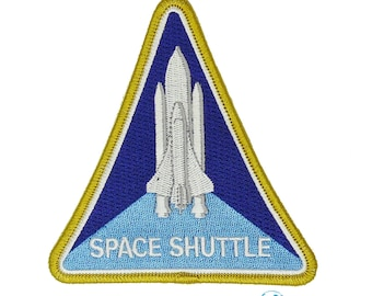 Nasa Shuttle Space Program Patch Full Embroidered Free Shipping Us Seller