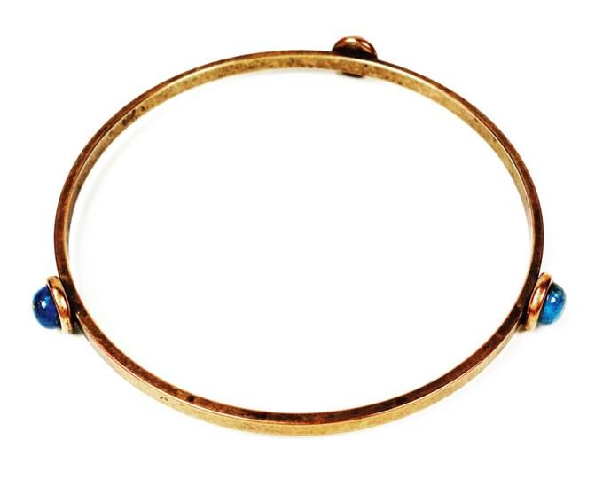 Gemstone Bracelet - Minimalist Jewelry - Gemstone Jewelry - Minimalist Bangle
