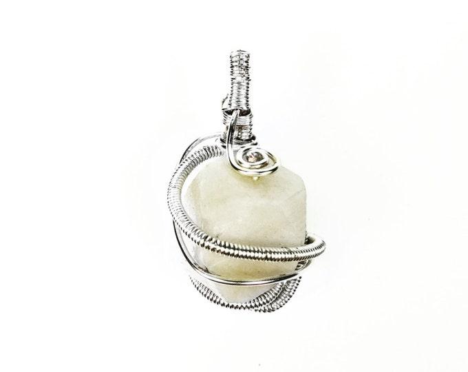 Crystal Wire Wrap Pendant - Crystal Wrap - Crystal Healing Jewelry - Hippie Jewelry - Spiritual Jewelry - Crystal Jewelry