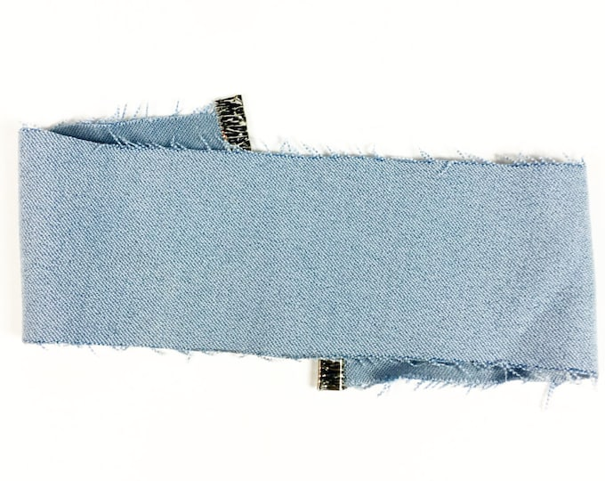 Denim Choker - Blue Denim Choker - 90s Fashion - Trendy - Retro Fashion - Handmade Jewelry - Chic - Choker Fashion - Jean Choker