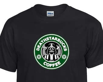 Death Star DeathStarbucks Coffee Star Wars Starbucks inspired Custom Shirt