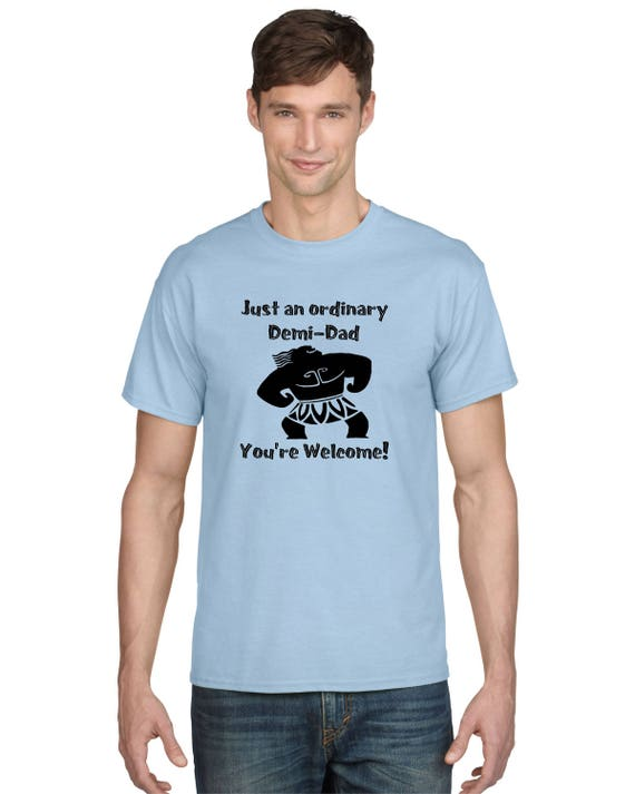 Just An ordinary Demi Dad Fathers Day T-Shirt Mens 100/% Cotton Soft T Shirt