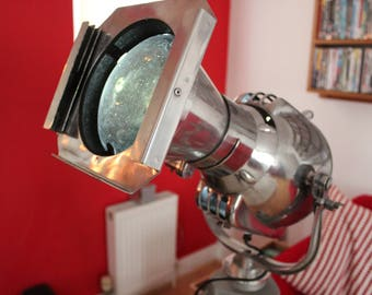 STRAND 23n Theatre Light plus vintage wooden tripod and bulbs/fittings