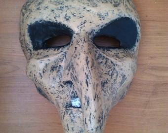 Witch Mask | Paper Mache Mask | Costume