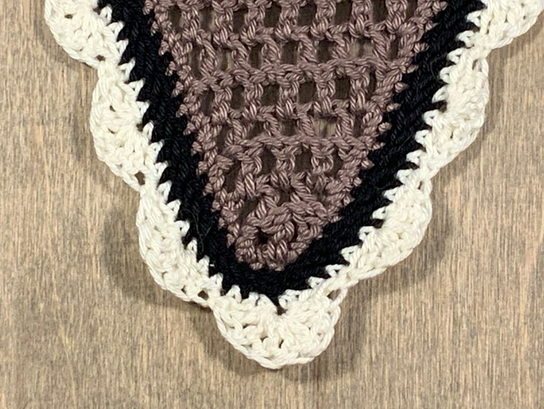 Horse fly bonnet  Beige Black and Off-white  Size Full  image 0