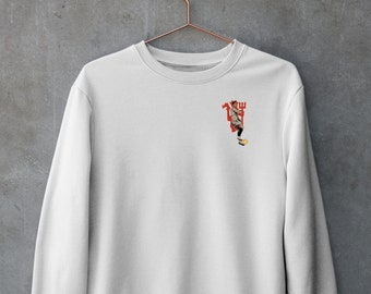 Manchester United and Ronaldo Inspired Sweatshirt (embroidered)