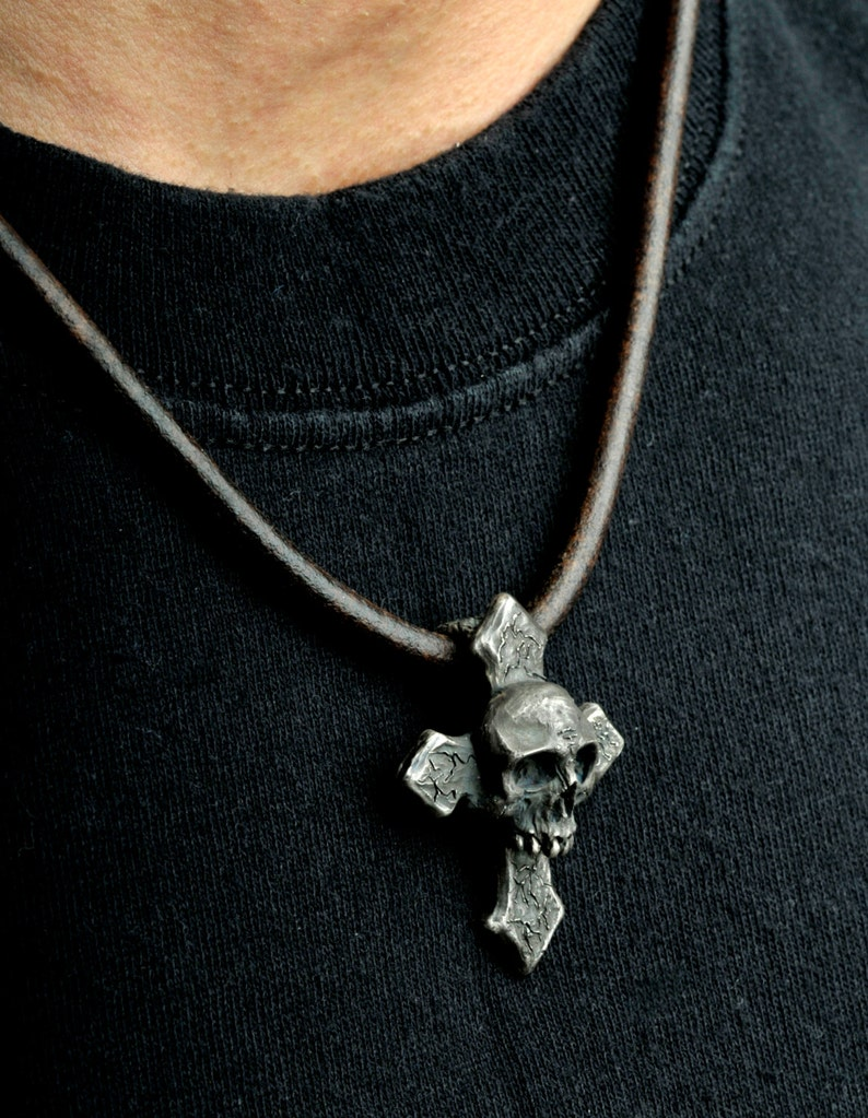 Pirate Cross,Sterling Silver Pendant Cross Pendant,Silver Cross Pendant,Crusader Cross Pendant,Pirate