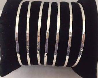 Weeckly bangle 7 set 925 silver /semanario