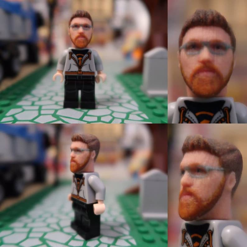 Buy your Unique Personalised gift now become a Mini Figure image 0