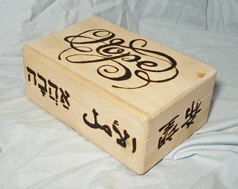 World Hope Wood Box Wood Burning