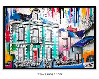Painting: Artist Alexandre Trubert
