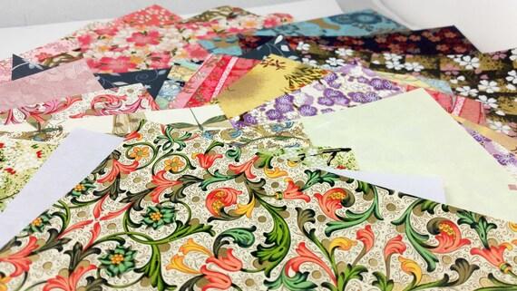 Mixed Origami Sheet Packs Washi Paper Origami Paper Etsy