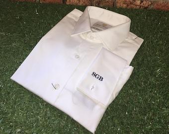Monogrammed Mens Slim Fit Shirt-The Monty
