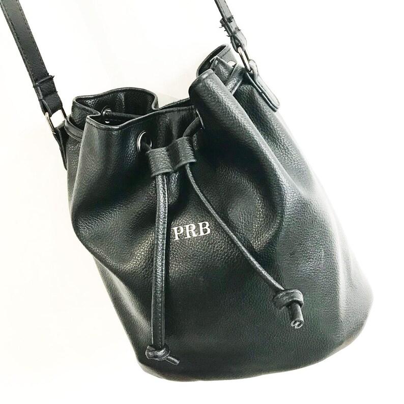 Monogrammed bucket bag-The Celine Faux Leather Bucket Bag.  6f98936dcf1c6