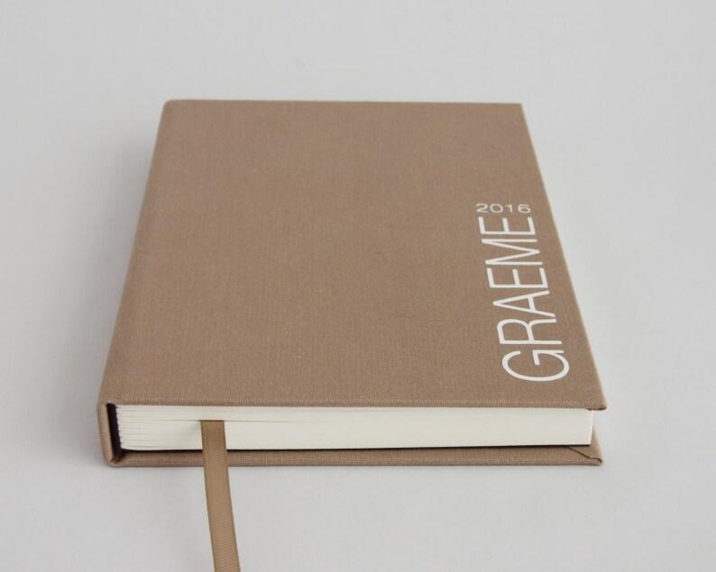 Personalised sketchbook  artist sketch book  orange purple image 0