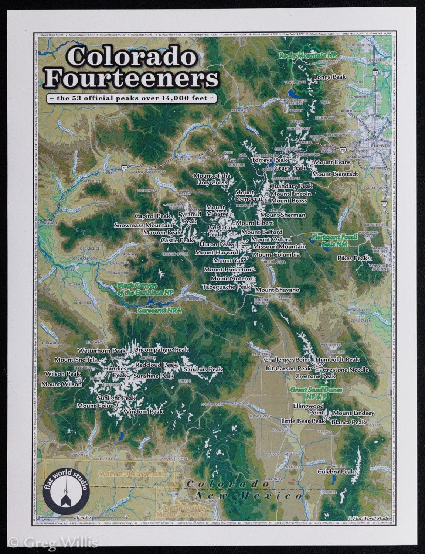 Colorado Fourteeners - small
