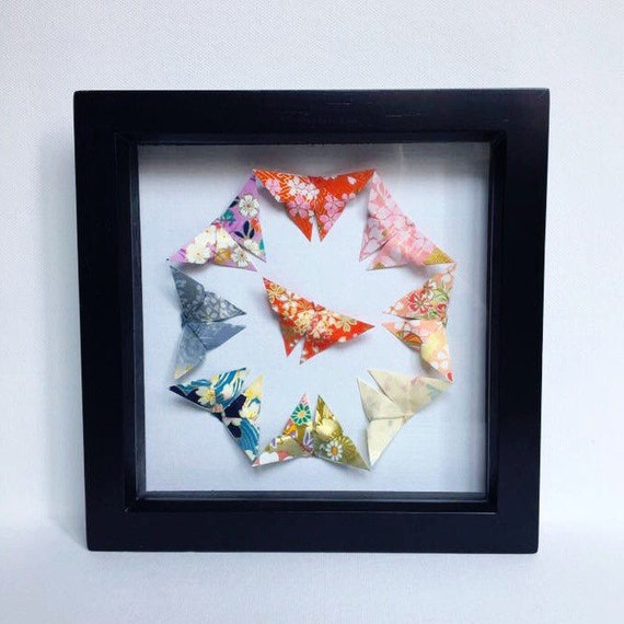 Origami Butterfly Wall Art Japanese
